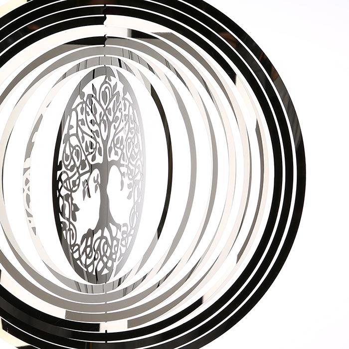 Ghirlanda GIGANTIC, inox, 125x50 cm [2]