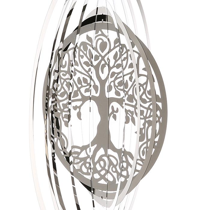 Ghirlanda GIGANTIC, inox, 125x50 cm [3]