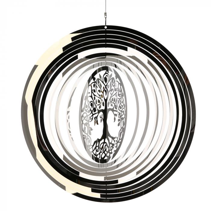 Ghirlanda GIGANTIC, inox, 125x50 cm [1]