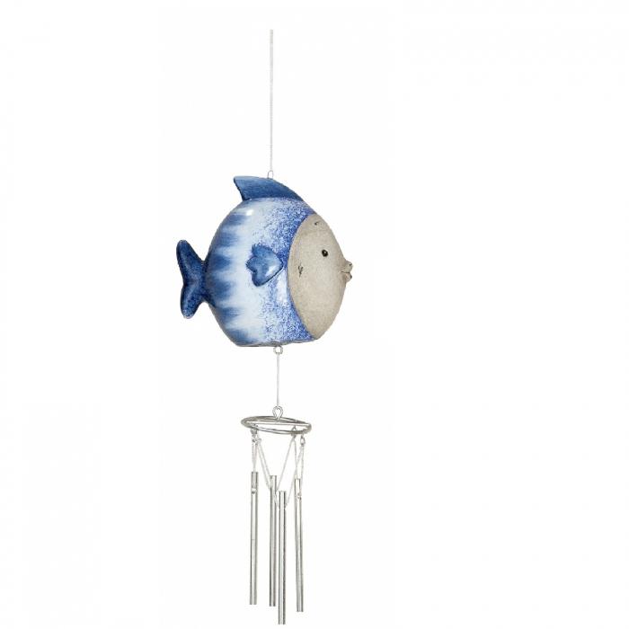 Clopotel de vant OCEAN, ceramica, 26x6x10 cm 0