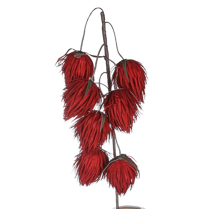 Crenguta clopotei BALLS, spuma, rosu, 68x20 cm 0