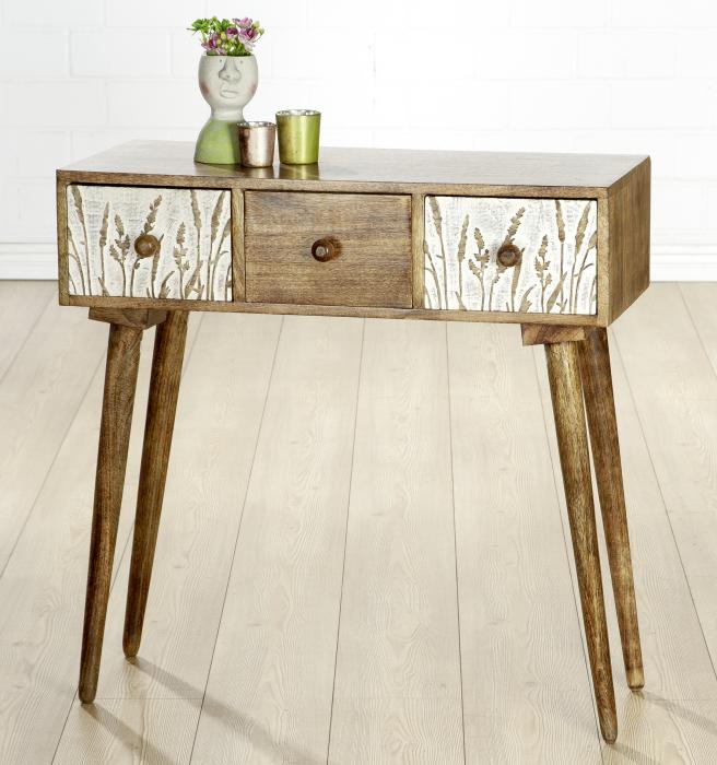Comoda GRASER, lemn, 80x79x34 cm lotusland.ro