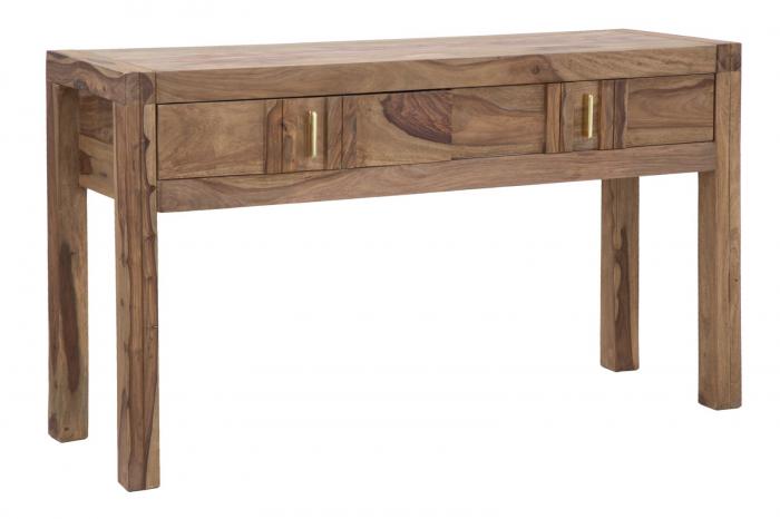 Consola ELEGANT, lemn masiv sheesham, 132X40X76 cm, Mauro Ferretti lotusland.ro