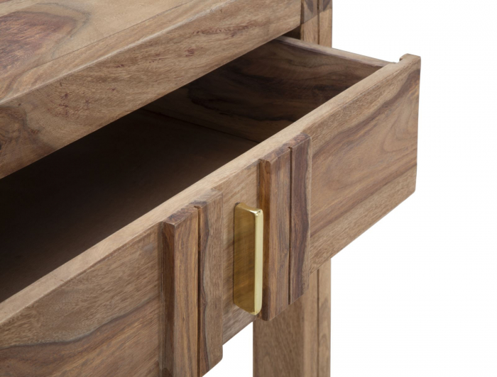 Consola ELEGANT, lemn masiv sheesham, 132X40X76 cm, Mauro Ferretti 6