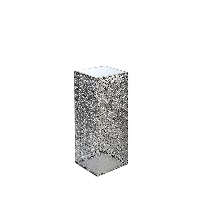 Consola PURLEY, metal/sticla, 70x27x27 cm 0
