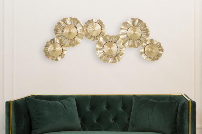 Corp de iluminat de perete cu 3 becuri GISPY, metal, 85X8X34 cm, Mauro Ferretti 7