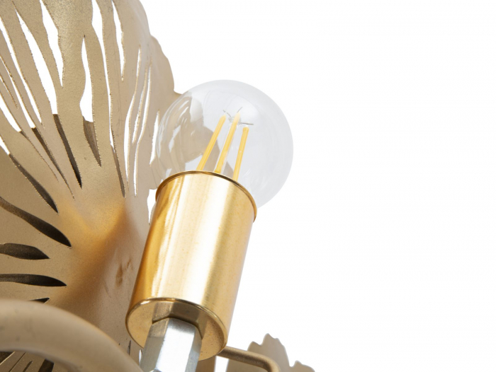 Corp de iluminat de perete cu 3 becuri GISPY, metal, 85X8X34 cm, Mauro Ferretti 3