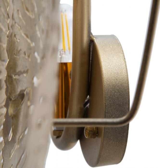 Corp de iluminat de perete cu 5 becuri DISHY, metal, 138X9X50 cm, Mauro Ferretti 3