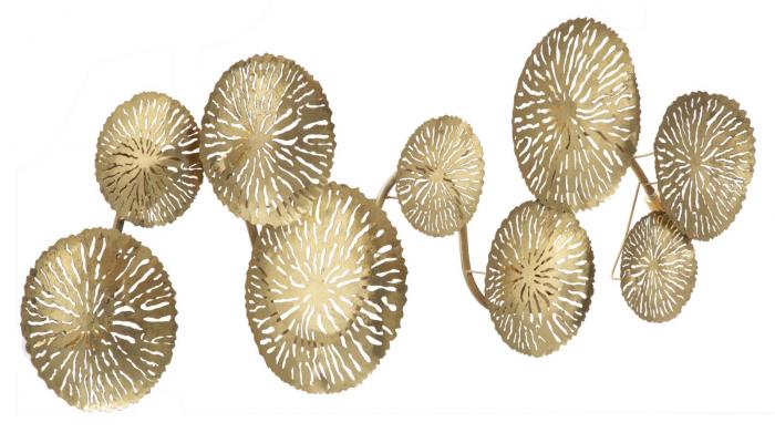 Corp de iluminat de perete cu 5 becuri DISHY, metal, 138X9X50 cm, Mauro Ferretti 2