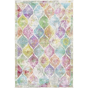 Covor Merinos, Colorful, 13 mm, 80 x 150 cm [0]