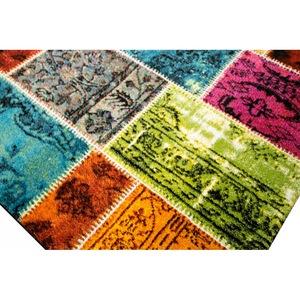 Covor Merinos, Ethno, multicolor, 13 mm, 200 x 290 cm [3]