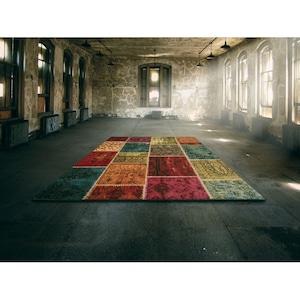 Covor Merinos, Ethno, multicolor, 13 mm, 200 x 290 cm [1]