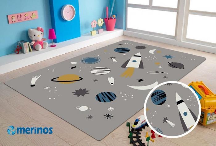 Covor Merinos Indigo Kids80 x 150 cm 2021 lotusland.ro