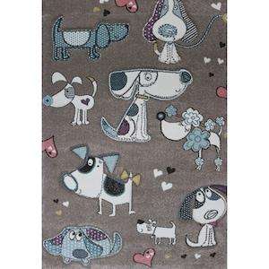 Covor Merinos, Pastel Kids, 13 mm, 160 x 230 cm [0]