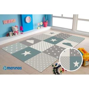 Covor Merinos, Pastel Kids, 13 mm, 80 x 150 cm [1]