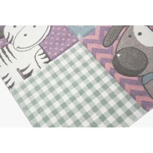 Covor Merinos, Pastel Kids, 13 mm, 80 x 150 cm [2]