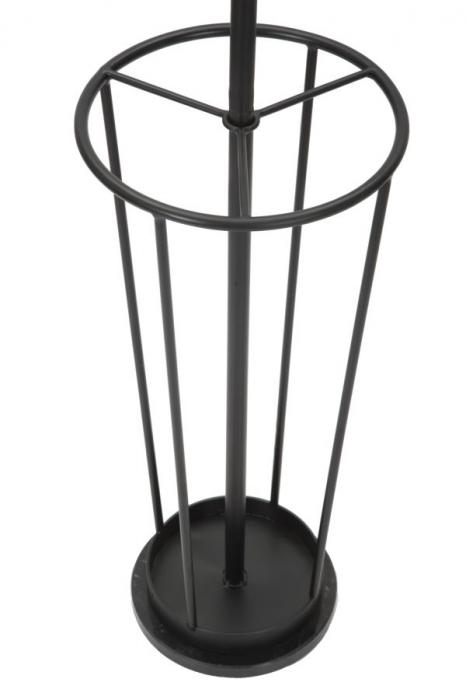 Cuier cu suport pentru umbrele GLAM negru (cm)Ø 26X176 1