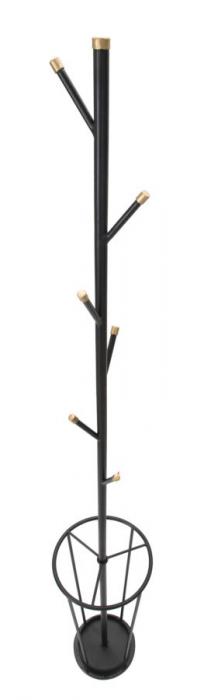 Cuier cu suport pentru umbrele GLAM negru (cm)Ø 26X176 5