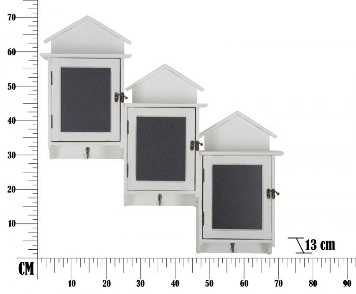 Cuier cu tablita de scris si depozitare CABIN (cm) 83X13X70 7