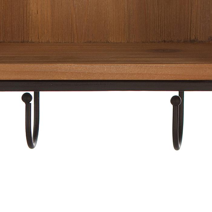 Cuier  HOUSE, lemn/metal, 68x30 cm 3
