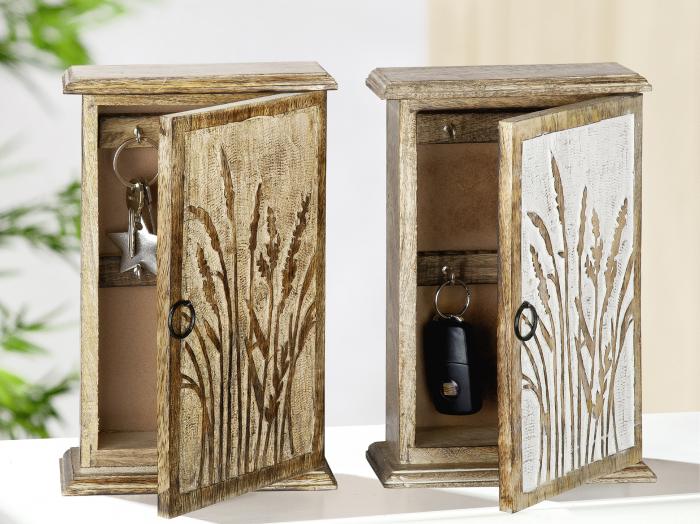 Cutie chei GRASER, lemn, 17x27.5 cm 1