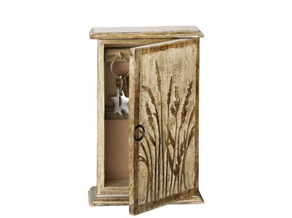 Cutie chei GRASER, lemn, 17x27.5 cm imagine 2021 lotusland.ro