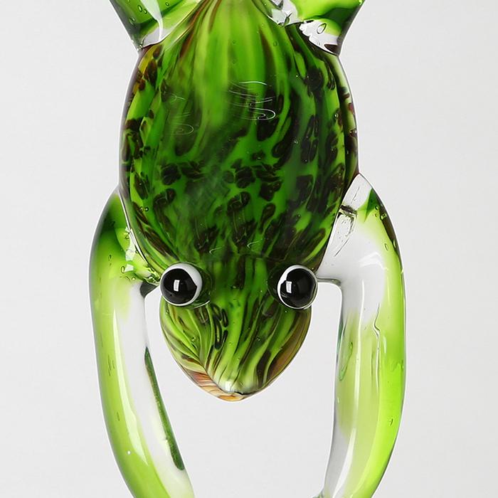 Decoratiune FROGSTAND, sticla, 36x11 cm 4