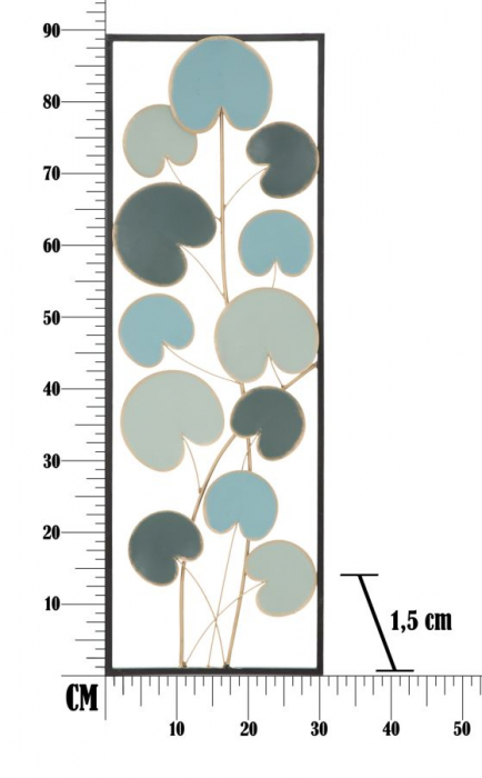 Decoratiune de perete  ALLE -B- (cm) 30X1,5X88,5 8