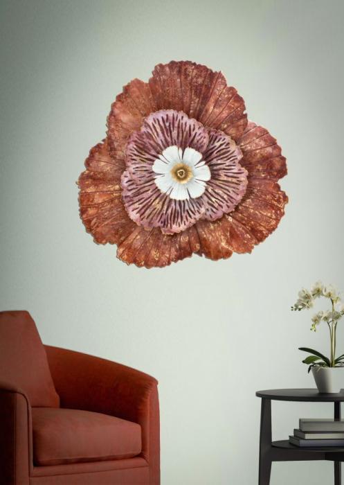 Decoratiune de perete BUNGA (cm) 73,5X11X72 5