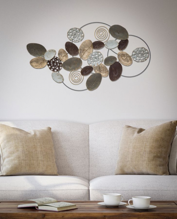Decoratiune de perete CIRCLY (cm) 87,5X5X48 5