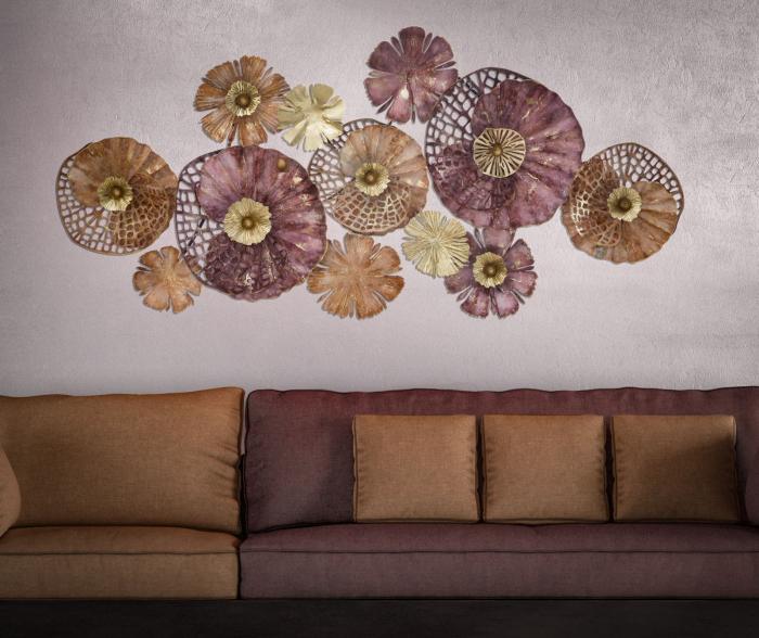 Decoratiune de perete CROX (cm) 132X10X64 5