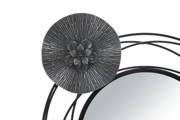 Decoratiune de perete cu oglinda DARK (cm) 117X5,5X49 1
