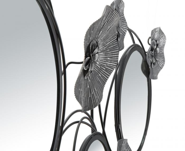 Decoratiune de perete cu oglinda DARK (cm) 117X5,5X49 2