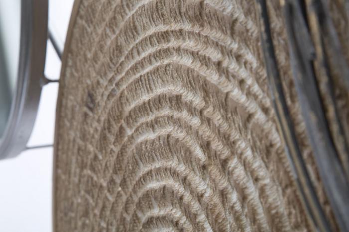 Decoratiune de perete cu oglinda ETNIC -B- (cm) 107X8,5X77,5 2