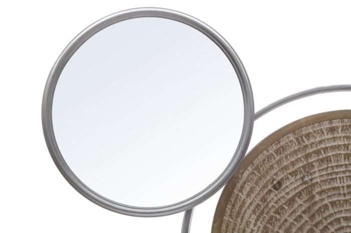 Decoratiune de perete cu oglinda ETNIC -B- (cm) 107X8,5X77,5 3