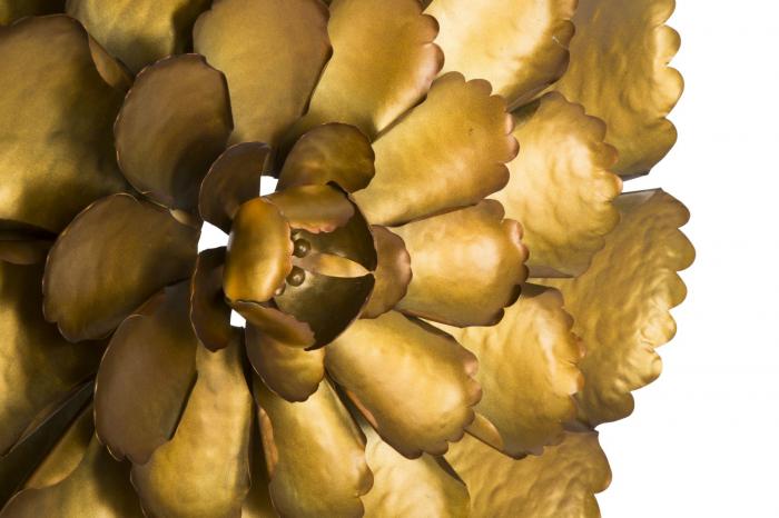 Decoratiune de perete  FIORE GOLDY -A- (cm) Ø 64X5,5 6