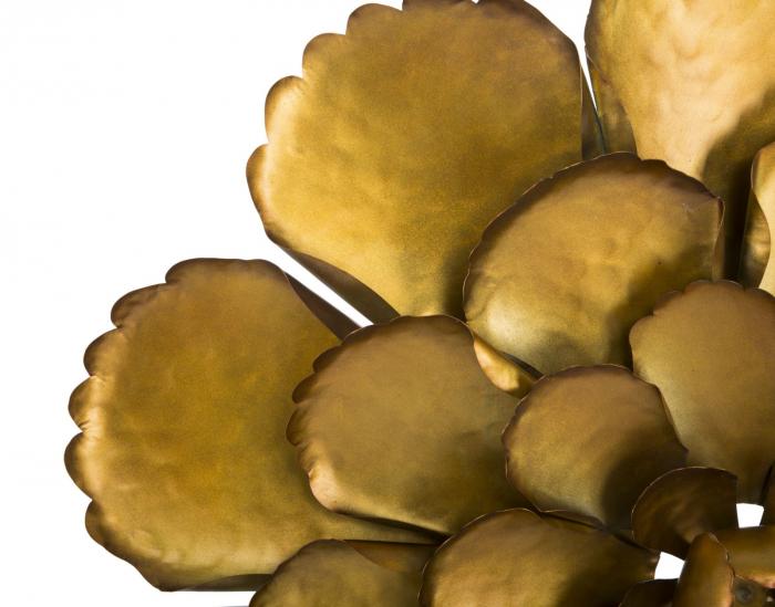 Decoratiune de perete  FIORE GOLDY -A- (cm) Ø 64X5,5 3