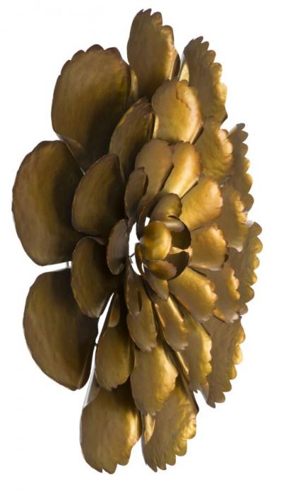 Decoratiune de perete  FIORE GOLDY -A- (cm) Ø 64X5,5 5