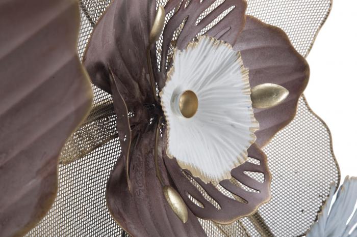 Decoratiune de perete FLOWER OPAS (cm) 154X12X66 4