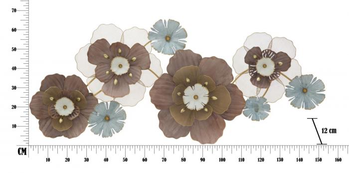 Decoratiune de perete FLOWER OPAS (cm) 154X12X66 6