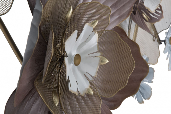 Decoratiune de perete FLOWER OPAS (cm) 154X12X66 2