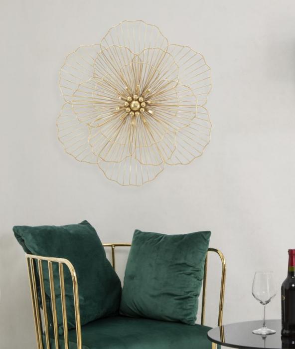 Decoratiune de perete FLOWER STICK (cm) 58,5X7,5X55 5