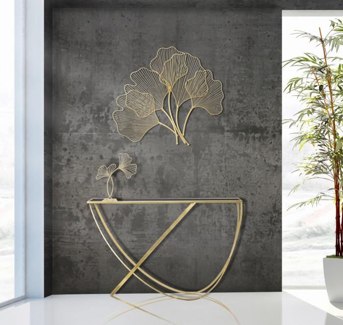 Decoratiune de perete GLAM LEAF (cm) 69X5X62 6