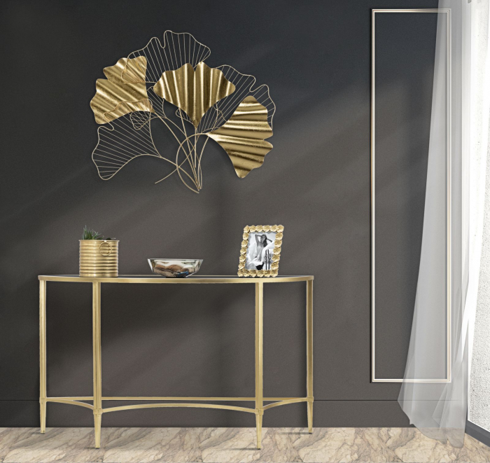 Decoratiune de perete GOXY GOLD (cm) 80X2,5X70 4