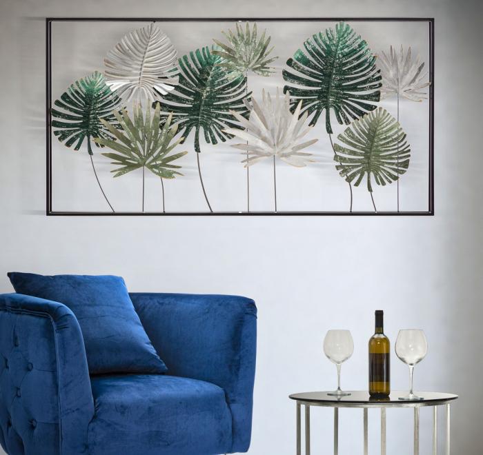 Decoratiune de perete LEAF (cm) 134,5X9,5X68,5 6