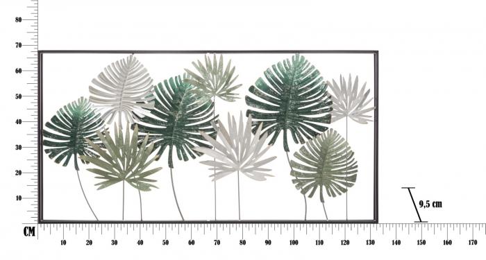 Decoratiune de perete LEAF (cm) 134,5X9,5X68,5 7