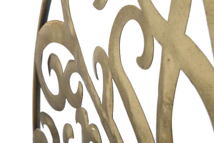 Decoratiune de perete LIFE TREE GOLD GLAM (cm) Ø 70X1,8 4