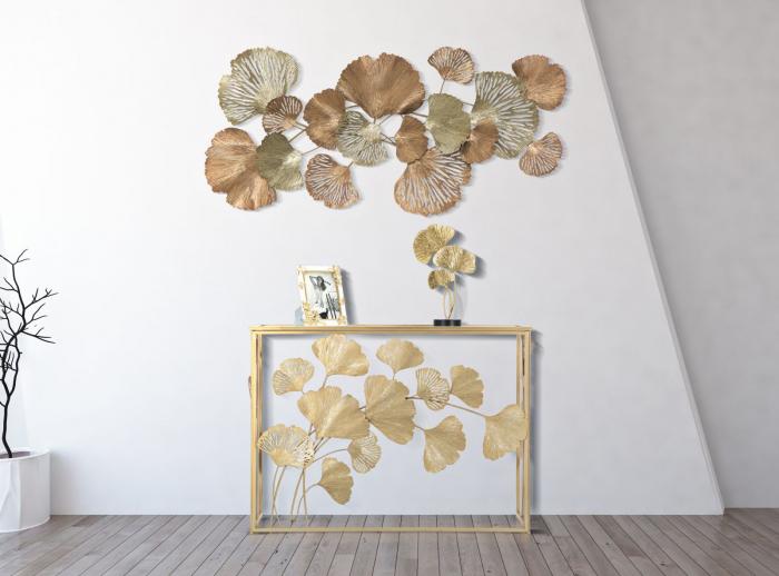 Decoratiune de perete Mixy, fier, multicolor, 130.5X8.5X62 cm 2021 lotusland.ro