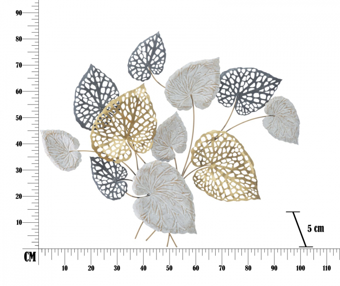 Decoratiune de perete ORY -B- (cm) 100X5X80 6