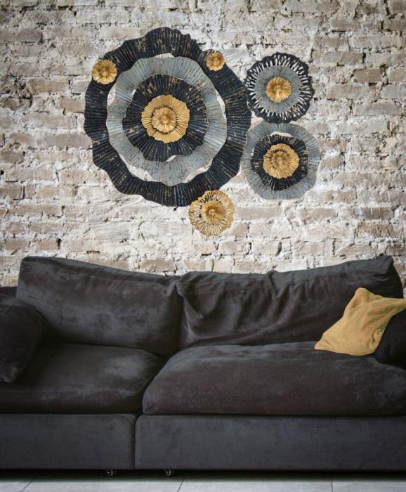 Decoratiune de perete OTOS (cm) 100X8X80 5